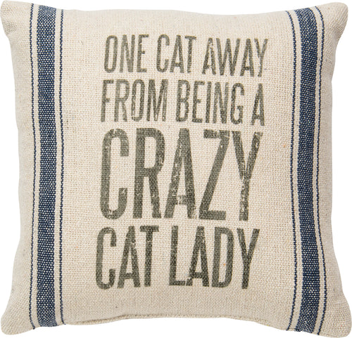 PKC050 - Crazy Cat Lady Cushion 15''
