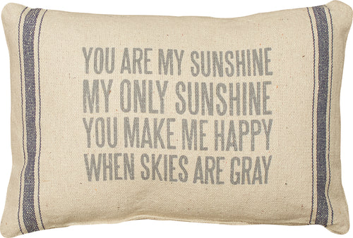 PKC253 - You Are My Sunshine Cushion 15 X 10