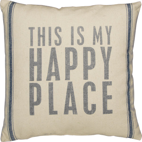 PKC256 - This Is My Happy Place Cushion 20''