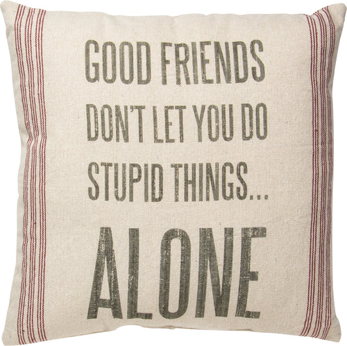 PKC257 - Good Friends Cushion 20''