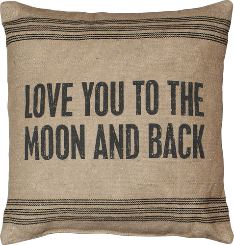 PKC272 - Love You To The Moon & Back Cushion 15''