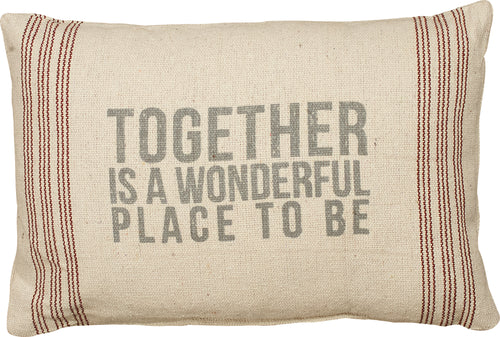 PKC273 - Together Cushion 15'' X 10''