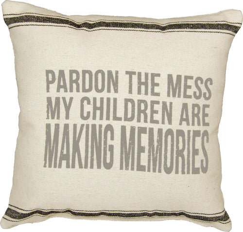 PKC276 - Pardon The Mess Cushion 15''
