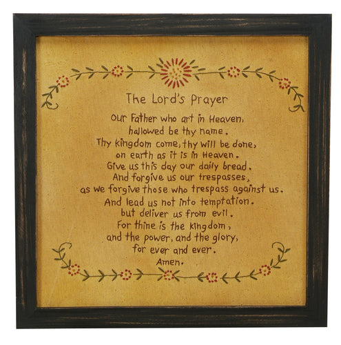 SK013 - Stitcheries By Kathy - Lords Prayer Red