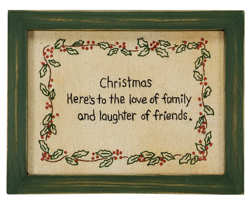 SK026 - Stitcheries By Kathy - Christmas Family