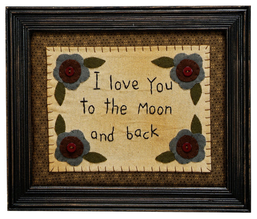 SK031 - Stitcheries By Kathy - Love You To The Moon