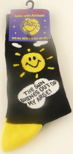 SS05 - Sun Shines Out My Arse Sox
