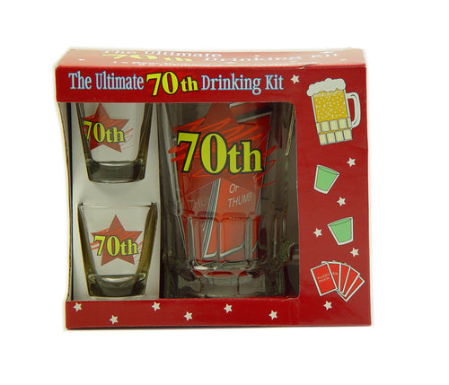 TSS007 - 70 Tankard , Shots And Cards Sets