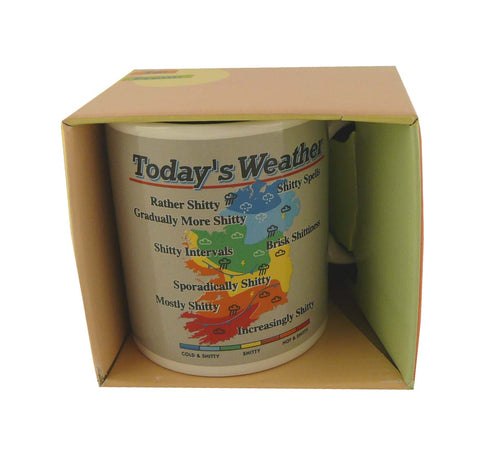TWEI002 - Ireland Weather Map Mug
