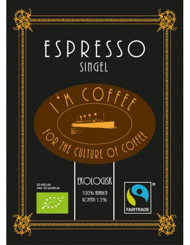 I'm Coffee Espresso (Eco/Fairtrade) Peru