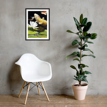 Load image into Gallery viewer, Koi & Lily (Framed Poster)