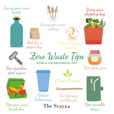 10 Zero Waste Tips To Save The Planet Earth | Celebrate World Environment Day At Home