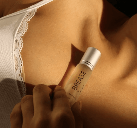 Brease by carmesi is an ideal mist for delicate breast skin