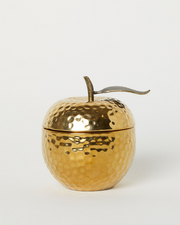 Apple Shaped Scented Candle (Metallic)
