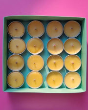 Luxe Fragrance Honey Lights | Set of 16 tealights