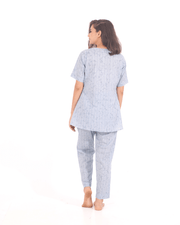 Grey nightsuit set of 2 for women