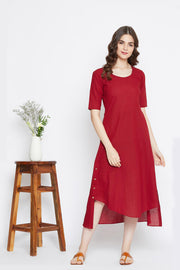 Gulaaz Dress – Red