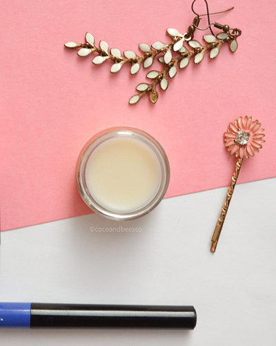 Summer Rose Natural Beeswax Hydrating Lip Balm