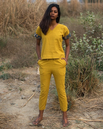 Kosh Two Piece Set In Yellow