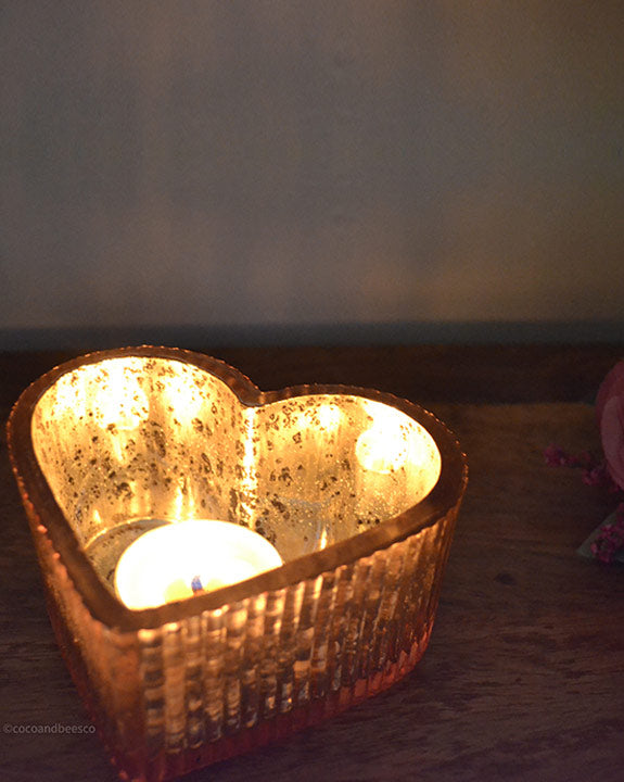 Natural Honey Tealights | Set of 10