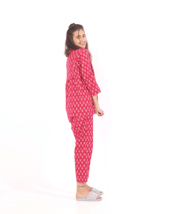 How comfortable is this nightsuit in cotton