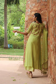 Kurta Palazzo Set in Georgette & Chinon for the go.