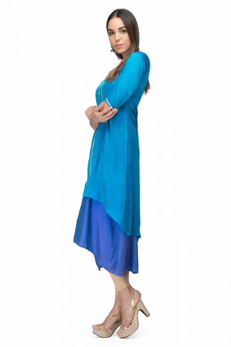 Step out with this kurta style dress.