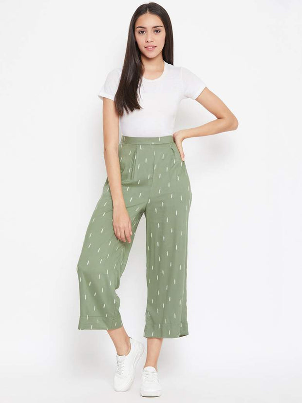 Leaf Green Pants