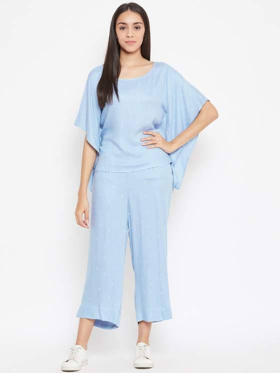 Powder blue Co-ord Set