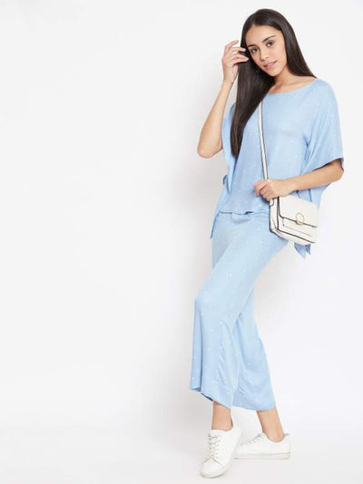 Powder blue Co ord Set