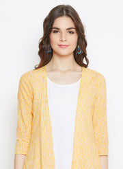 Yellow Tiered Jacket
