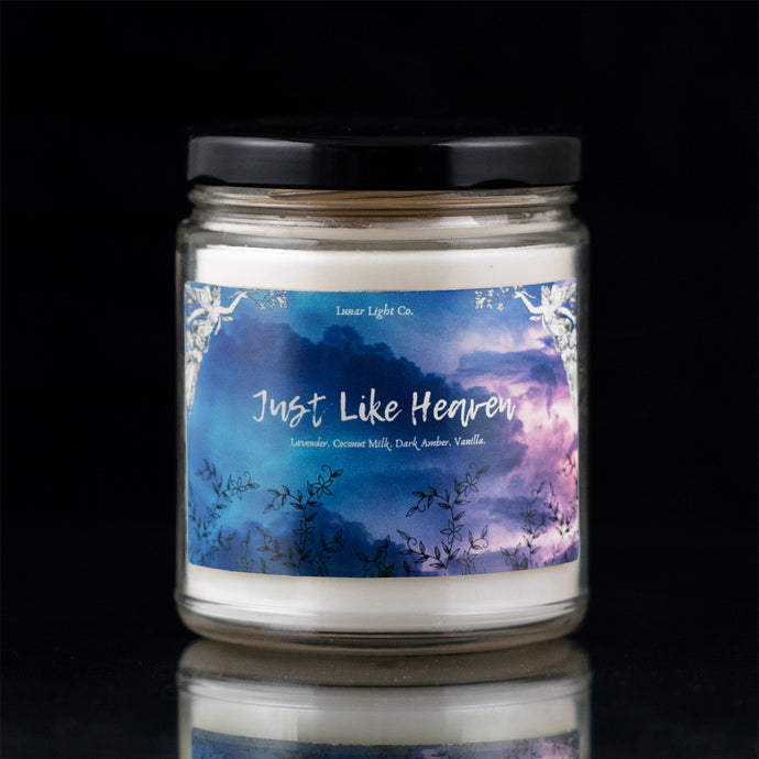 Just Like Heaven - Lavender Milk & Dark Amber
