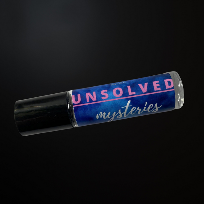 Unsolved Mysteries Perfume Oil - Black Pepper & Suede