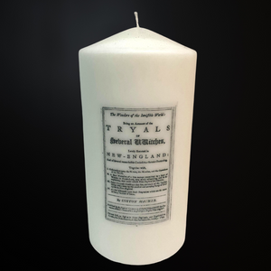 Tryals of Witches - Decor Candle