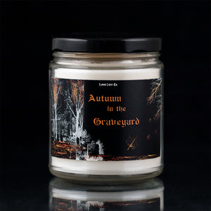 Autumn in the Graveyard - Smoked Woods & Leaves