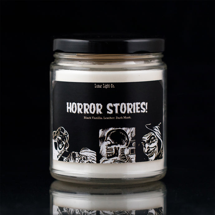 Horror Stories - Black Vanilla & Leather