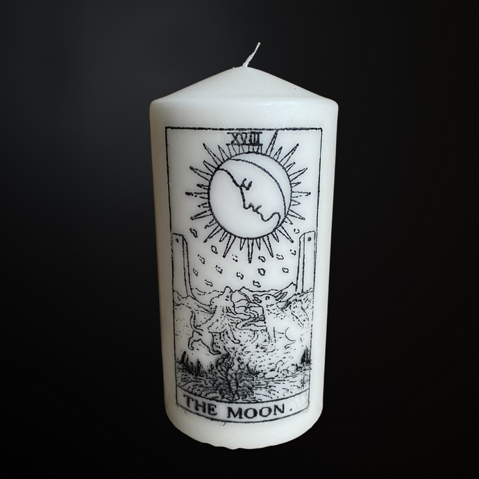 Moon Tarot - Decor Candle
