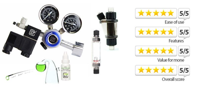 Practical Fishkeeping Review of CO2Art Premium Complete Aquarium CO2 System