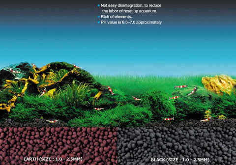 UP Aqua Sand Substrate - Earth 5kg - CO2Art.co.uk | Aquarium CO2 Systems and Aquascape Specialists