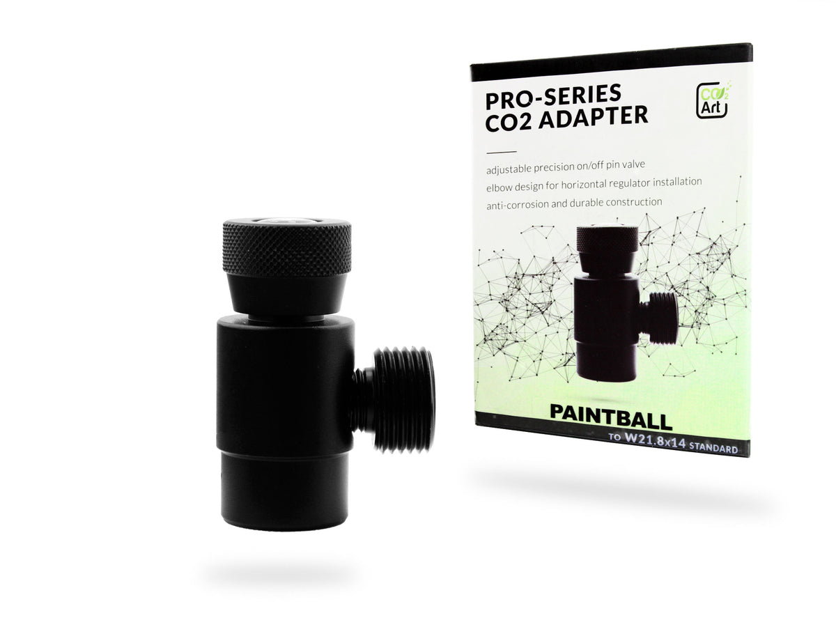 Ny Pro-serie CO2 Adapter för Paintball - Sodastream - Engångs