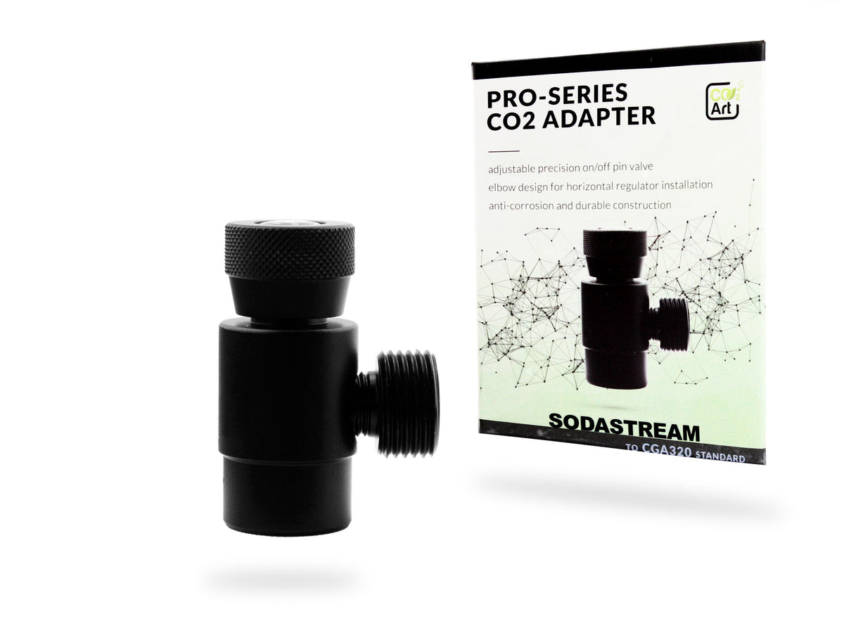 New Pro-Series CO2 Adapter for Paintball - Sodastream - Disposable