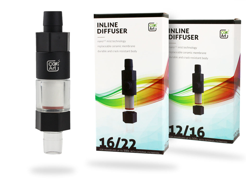 NY CO2Art Inline CO2 Aquarium Atomizer Diffuser System