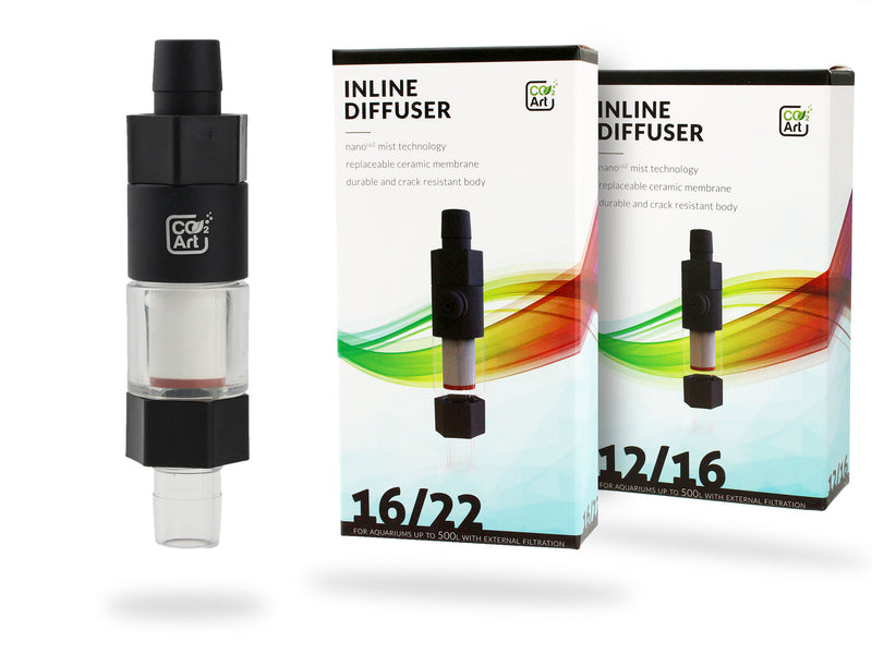NUOVO CO2Art Inline CO2 Aquarium Atomizer Diffuser System
