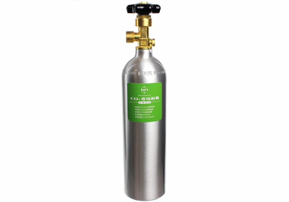 UP 1L CO2 Cylinder for plantet akvarium - CO2Art.co.uk | Akvarium CO2-systemer og Aquascape-spesialister