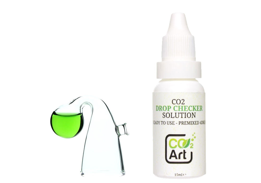 Set completo de acuario Nano CO2 Drop Checker