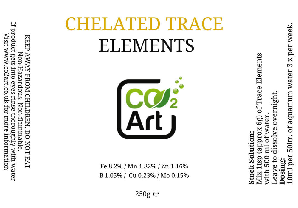 Traço Chelated - CO2Art.co.uk | Aquarium CO2 Systems e Aquascape Specialists - 2