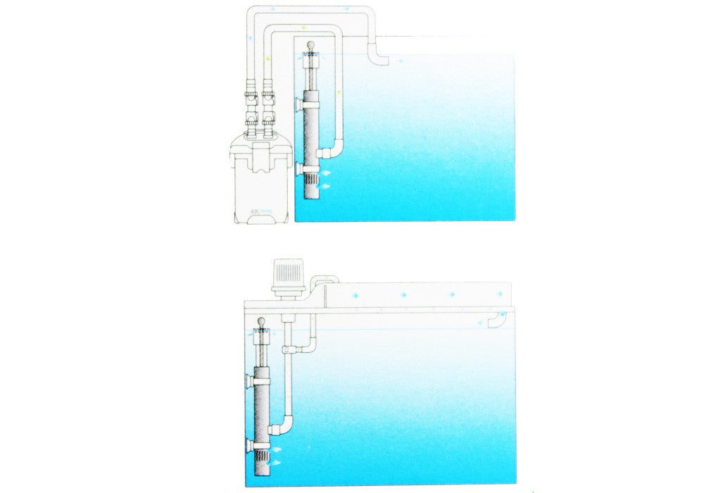 Skimmer Superfície Filtro - Ø13mm - 12mm / 16mm - CO2Art.co.uk | Aquarium CO2 Systems e Aquascape Specialists - 2