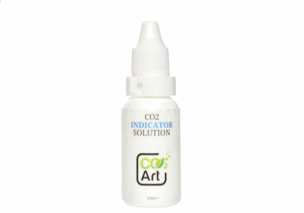Aquarium CO2 Indicator Soluție 15ml - Bromothymol Blue - CO2Art.co.uk | Soluții de acvariu CO2 Systems și specialiști Aquascape