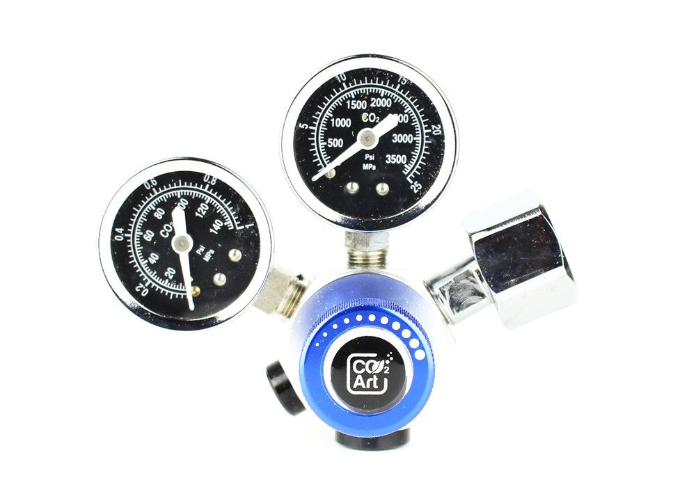 Profesjonell akvarium CO2 Dual Stage Regulator