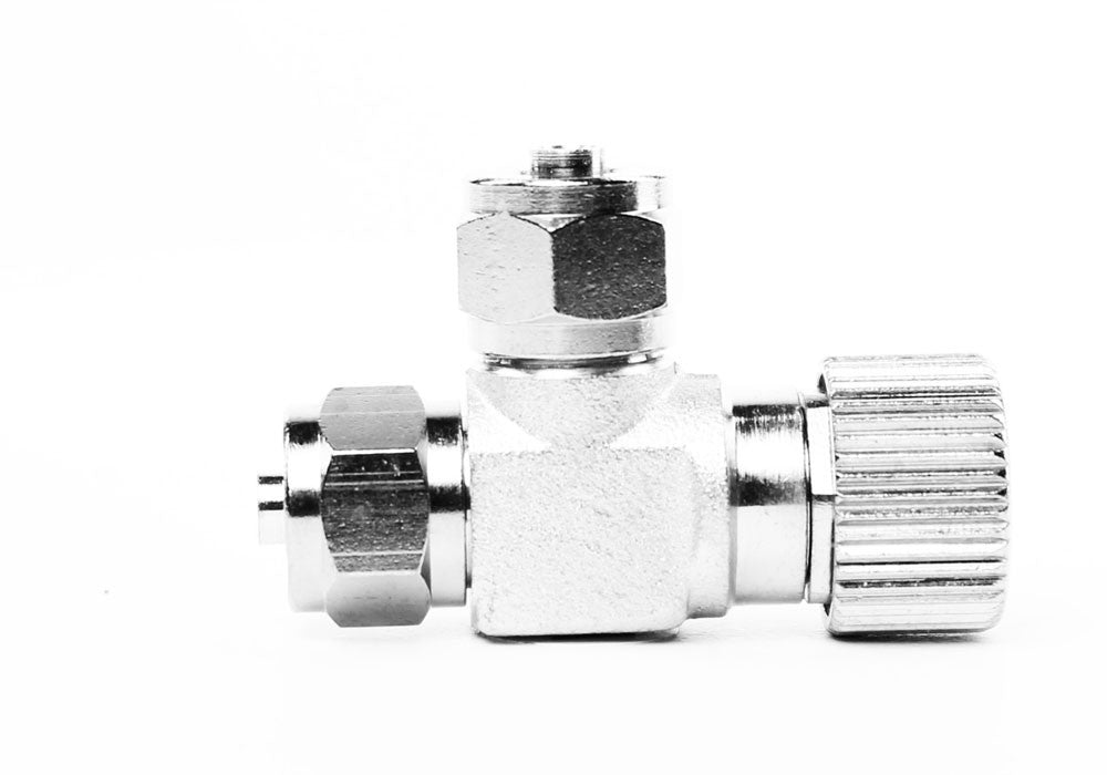 Aquarium Brass CO2 Needle Valve for DIY CO2 System Co2 Diffuser Regulator - CO2Art.co.uk | Aquarium CO2 Systems and Aquascape Specialists  - 1